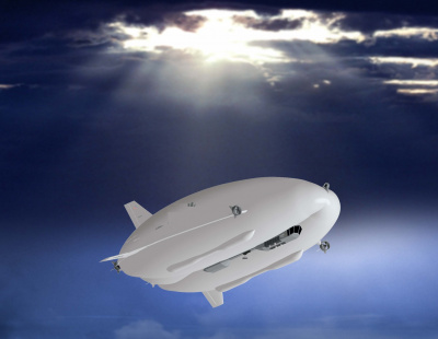 VIDEO: What Amazon's giant drone-carrying airship would look like