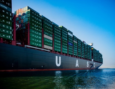 UASC mega container ship refloated after grounding