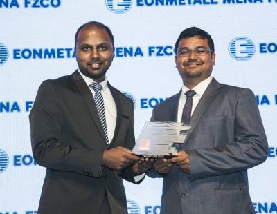 Al Majdouie win Bespoke Project at Logistics ME Awards