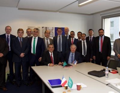 Alstom and National Grid sign major Saudi MoU