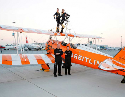 THE BIG PICTURE: Breitling Wingwalkers at Dubai Airshow