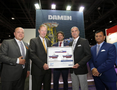 Damen signs three-boat contract at Seatrade Middle East