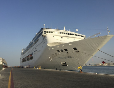 Cruise ship suffers blackout while in port in Abu Dhabi