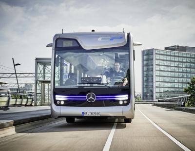 FOCUS: Daimler presents autonomous bus of the future