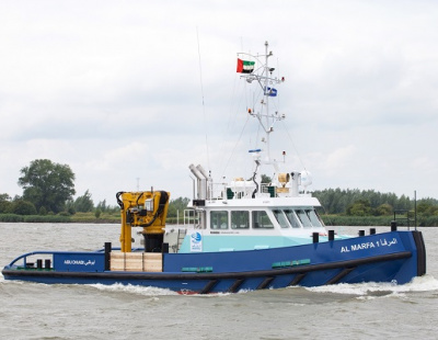 Damen delivers Shoalbuster to Abu Dhabi's IRSHAD
