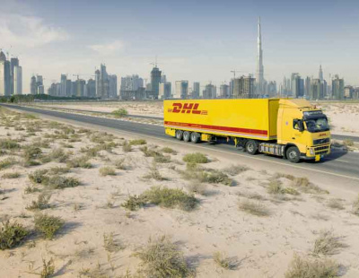DHL highlights trade lanes between China and the UAE