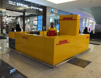 DHL opens new retail Service Points in Mall of Qatar