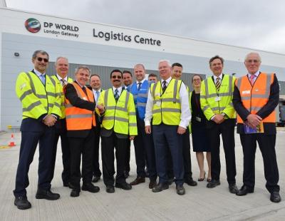 DP World opens logistics hub at London Gateway