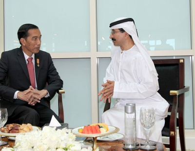 Indonesian president tours Jebel Ali port with Sulayem