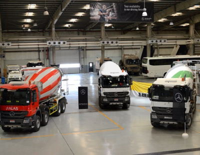 EMC and Liebherr target cement mixer logistics