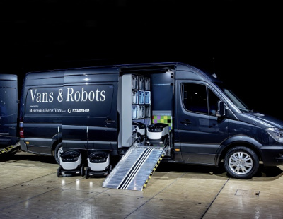 Daimler to deploy robot vans and drones to boost UAE last mile