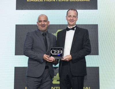 Gulftainer executive wins CEO of the Year at CEO Middle East Awards 2017
