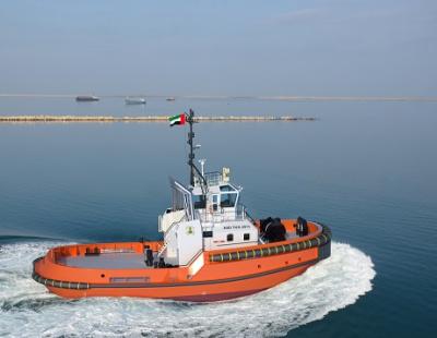 Saqr Port UAE signs contract for Damen ASD 2913 Tug