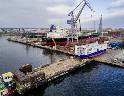 BIG PICTURE: Damen launches RoPax ferry