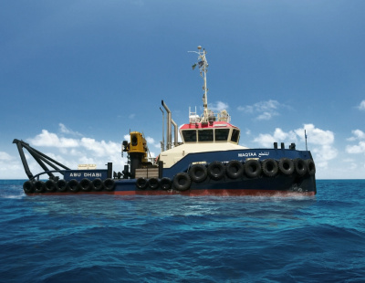 Abu Dhabi Marine Services takes delivery of Shoalbuster