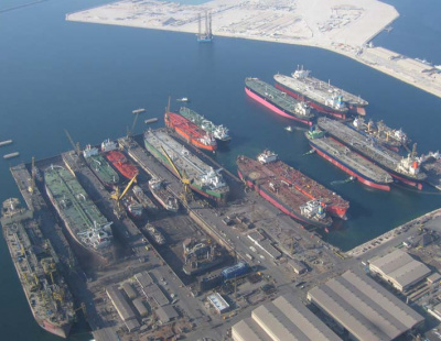 Gone with the wind: Drydocks World powers up