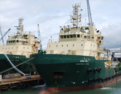 Drydocks World delivers tugs to Greatship Group