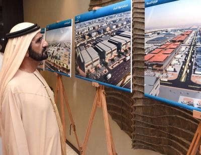 Ruler of Dubai unveils new wholesale logistics hub