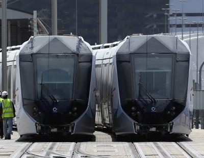 First passengers board Dubai Tram