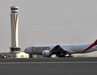 Freight volumes fall at Dubai's Al Maktoum Int Airport