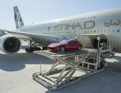 Etihad launches luxury car cargo service for summer
