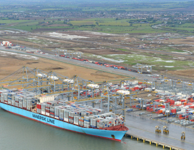 THE BIG PICTURE: Largest ship to ever enter the Thames