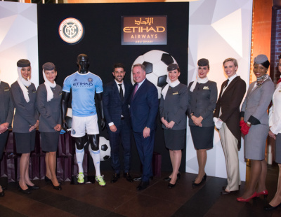 Etihad Airways signs sponsorship deal with NYC FC