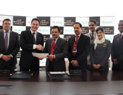 Abu Dhabi's Lulu, Etihad sign air cargo services deal