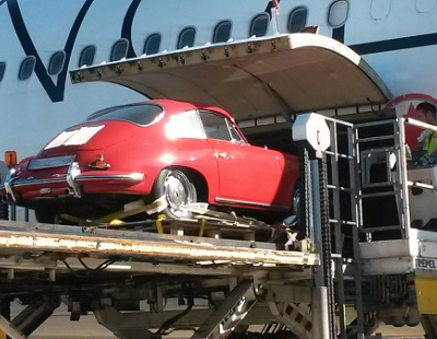 BIG PICTURE: Classic Porsche takes to the skies