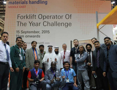 EVENT: King of Forklifts crowned at Dubai trade show
