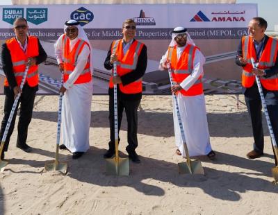 GAC breaks ground on new facility at Dubai South
