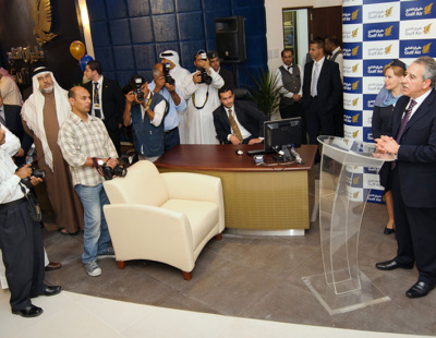 Gulf Air unveils new sales office in Bahrain capital