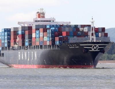 Dubai-bound Hanjin ship stranded off Singapore