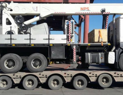 BIG PIC: Headway moves crane from Erbil to Tunis