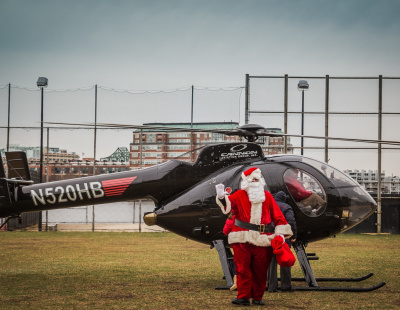 Police search for Santa Claus after helicopter theft