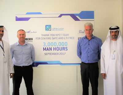 Abu Dhabi Terminals marks 3-million hours without Lost Time Injury