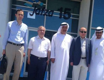 Turkish delegates visit Jafza