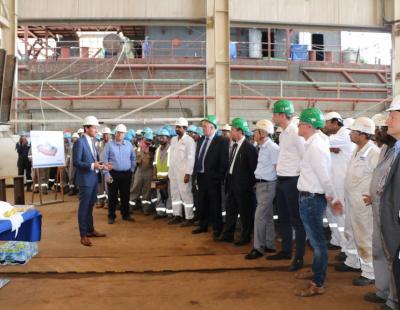 Damen Shipyards Sharjah lays keel for first ASD tug in UAE