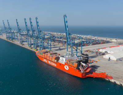 THE BIG PICTURE: World's largest Con-Ro ship enters UAE