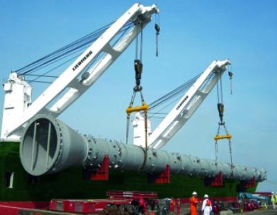 Liebherr wins significant ship crane order
