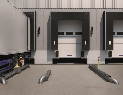 Hormann enhances GCC loading point safety with Wheelblocker