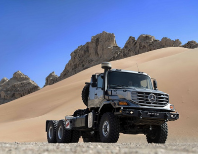 Mercedes-Benz Zetros makes GCC debut at ADIPEC 2016