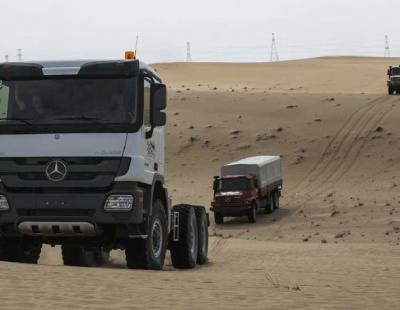 Mercedes-Benz hits 100,000 Actros milestone in MENA