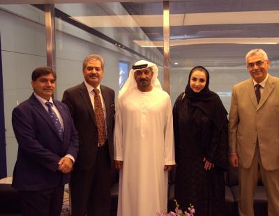 Emirates chairman meets first female NAFL president