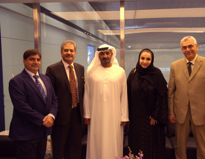 Emirates chairman meets first female NAFL president