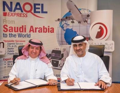 Saudi Arabia's NAQEL teams up with Dubai Trade