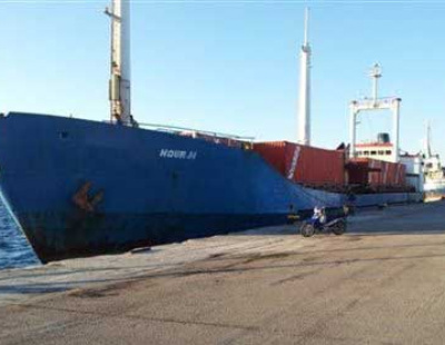 Syria bound ship carrying weapons stopped in Greece
