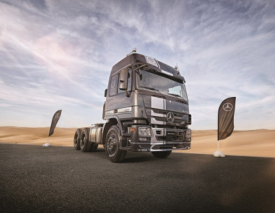 Mercedes-Benz Trucks launches special edition Actros