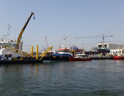 Damen Shipyards Sharjah showcases Damen stock vessels