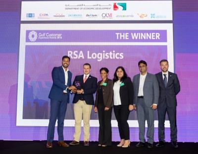 RSA Logistics wins Gulf Customer Experience Award